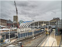 SJ8499 : Redevelopment of Manchester Victoria Station (July 2014) by David Dixon