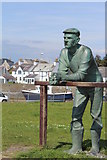 NX3343 : The Man On The Green, Port William by Leslie Barrie