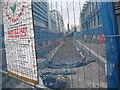 SP0786 : Metro extension from Snow Hill-Birmingham by Martin Richard Phelan