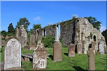 NX4355 : St Machute's Church, Wigtown by Leslie Barrie