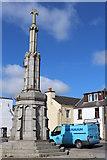 NX4355 : New Mercat Cross, Wigtown by Leslie Barrie