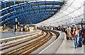 TQ3079 : Waterloo International Station, 1995 by Ben Brooksbank