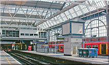TQ3179 : Waterloo Station, Platforms 1/2 2008 by Ben Brooksbank