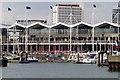 SZ6299 : Gunwharf Quays waterfront by Steve Daniels