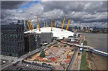 TQ3979 : London : Royal Borough of Greenwich - O₂ Arena & River Thames by Lewis Clarke