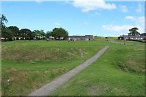 NY0265 : Caerlaverock Castle Grounds by Billy McCrorie