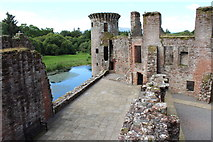 NY0265 : Caerlaverock Castle, Murdoch's Tower by Billy McCrorie