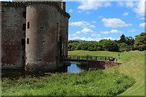 NY0265 : Caerlaverock Castle Entrance by Billy McCrorie