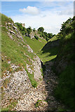 SK1482 : Cave Dale by Anne Burgess