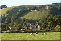 SK1482 : Castleton from the northwest by Derek Harper
