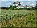 SU6321 : Barns at Peake Farm by Christine Johnstone