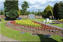 NY1281 : Garden of Remembrance, Dryfesdale Cemetery by Billy McCrorie