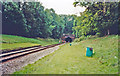 TQ3731 : West Hoathley: site of former station and Sharpthorne Tunnel on Bluebell Railway, 2002 by Ben Brooksbank