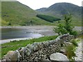 NY4711 : A well made dry stone wall by Russel Wills