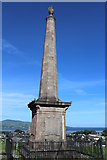 NX4355 : Wigtown Martyrs' Monument by Leslie Barrie