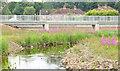 J3773 : Footbridge, Orangefield Park, Belfast (July 2014) by Albert Bridge