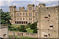 SK4663 : Hardwick Hall viewed from Hardwick Old Hall by Philip Halling