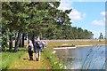 NT3054 : Approaching Gladhouse Reservoir dam by Jim Barton
