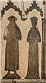 TQ8212 : Brass to unknown civilian, St Helen's church, Ore by Julian P Guffogg
