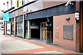 J3374 : Ground floor, Sinclair House, Belfast (July 2014) by Albert Bridge
