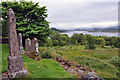 NM7701 : View from also the Old Chapel, Craignish by Stuart Wilding