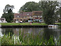 TL3671 : 'Pike & Eel' public house near Over village by Robert Edwards