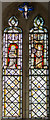 TF0592 : Medieval Stained glass window, St Peter's church, Kingerby by J.Hannan-Briggs