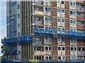 ST2987 : Renovation in progress, Gaer, Newport by Robin Drayton