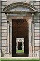 SK4468 : Door and portico by Philip Halling