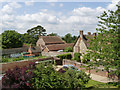 SU6491 : Gardens at Ewelme School and God's Place by Alan Murray-Rust