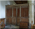 SU6491 : Ewelme Church, Screen in the north aisle by Alan Murray-Rust