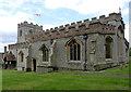 SU6491 : Ewelme Church, St John the Baptist's Chapel exterior by Alan Murray-Rust