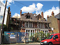 TQ2874 : Converting the old vicarage by Stephen Craven