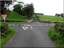 H4178 : Road junction, Killinure by Kenneth  Allen