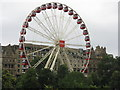 NT2573 : Jenners and the Festival Wheel by M J Richardson