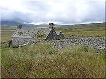 SH7942 : Cefngarw farm and barn by Richard Law