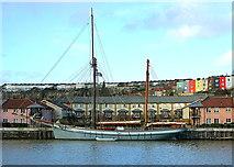 ST5772 : Bristol boats 4 by Anthony O'Neil