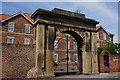 TA0439 : Stone Arch on Figham Bridge by Ian S
