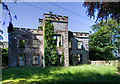 N4239 : The ruins of Newcastle House, Westmeath by Mike Searle