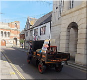 SY6778 : Steam wagon in Weymouth by Jaggery