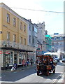 SY6778 : Steaming along a Weymouth street by Jaggery
