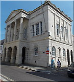 SY6778 : NW corner of the Guildhall, Weymouth by Jaggery
