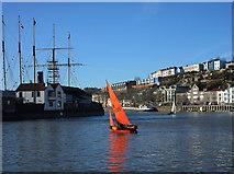 ST5772 : Bristol boats 11 by Anthony O'Neil