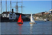 ST5772 : Bristol boats 12 by Anthony O'Neil