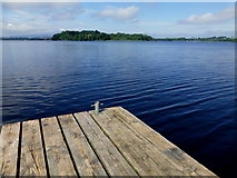 H1860 : Lough Erne, Tom's Island by Kenneth  Allen
