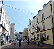 SY6778 : Walking along St Mary Street, Weymouth by Jaggery
