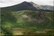 NY2101 : View Towards Goat Crag by Peter Trimming
