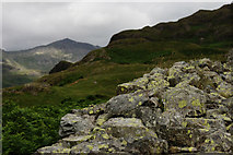 NY2101 : View From Hardknott Roman Fort by Peter Trimming