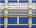 SE3406 : Barnsley Cooperative building, Wellington St, detail by Alan Murray-Rust