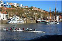 ST5772 : Bristol boats 47 by Anthony O'Neil